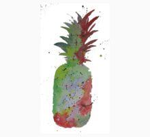 Rainbow pineapple One Piece - Short Sleeve