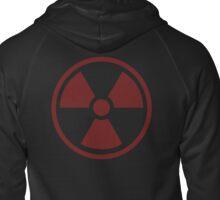 Radioactive Symbol Zipped Hoodie