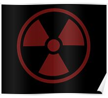 Radioactive Symbol Poster