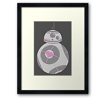 Weighted Companion Droid Framed Print