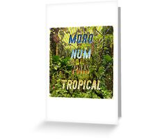 Pais Tropical - Square – A Hell Songbook Edition - Olympic Games Rio de Janeiro - Brazil Greeting Card