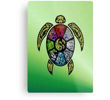 Ba-gua Turtle Metal Print