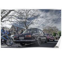 Datsun + Mazda Poster