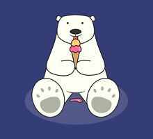 Ice Cream Lover Polar Bear Unisex T-Shirt