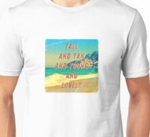 Girl from Ipanema #1 Square - A Hell Songbook Edition Unisex T-Shirt
