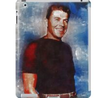 Ronald Reagan Hollywood Actor and President iPad Case/Skin