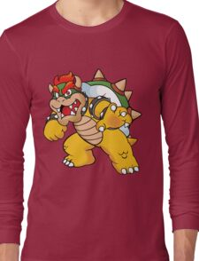 Bowser (Super Mario) Long Sleeve T-Shirt