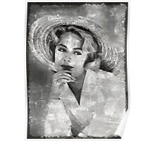 Sandra Dee Vintage Hollywood Actress Poster