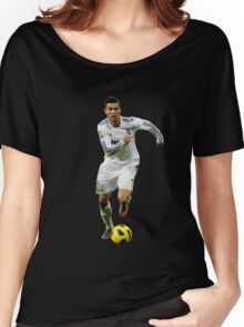 cristiano ronaldo fight Women's Relaxed Fit T-Shirt