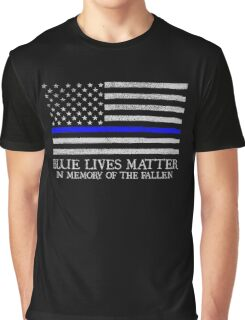 The Blue Line Graphic T-Shirt