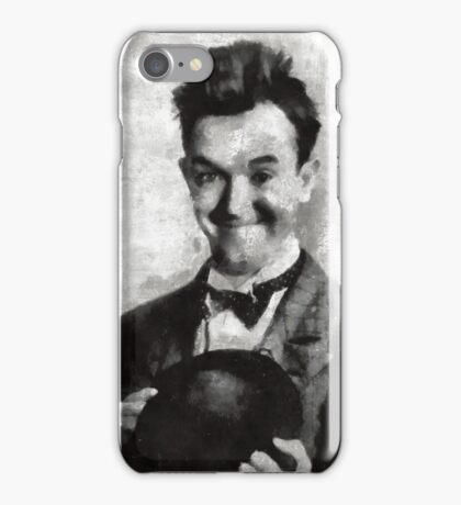 Stan Laurel Vintage Hollywood Actor Comedian iPhone Case/Skin