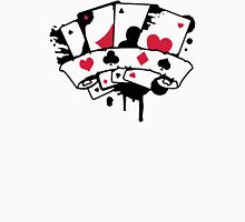 Four Playing Cards  Unisex T-Shirt