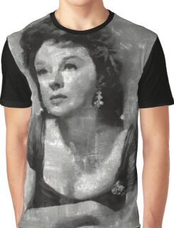 Susan Hayward Vintage Hollywood Actress Graphic T-Shirt