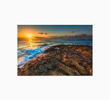 Sunrise and rocky shore Unisex T-Shirt