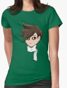 [Overwatch] Tracer - Cheers Love! Womens Fitted T-Shirt