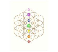 Flower Of Life - Metaphysical Art Print