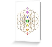 Flower Of Life - Metaphysical Greeting Card