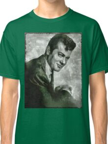Tony Curtis Vintage Hollywood Actor Classic T-Shirt