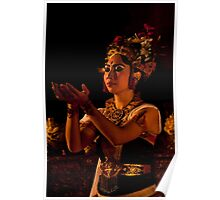 The bliss of Ubud, Bali. Poster