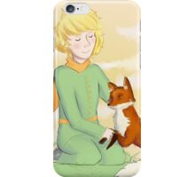 The prince and his fox iPhone Case/Skin