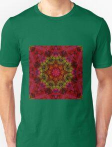 Crimson kaleidoscope. Wonderful design. Bright , juicy. Unisex T-Shirt