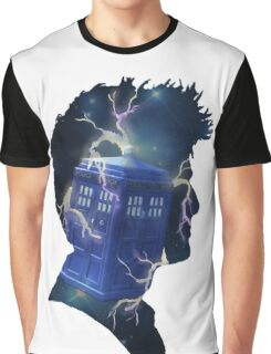 Doctor Who Traveling Tardis Graphic T-Shirt