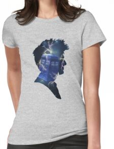 Doctor Who Traveling Tardis Womens Fitted T-Shirt