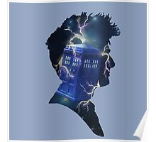 Doctor Who Traveling Tardis Poster