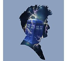 Doctor Who Traveling Tardis Photographic Print