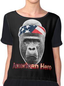 Natural Born Hero : Harambe Chiffon Top