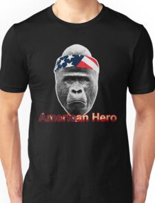 Natural Born Hero : Harambe Unisex T-Shirt