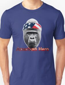 Natural Born Hero : Harambe Unisex T-Shirt