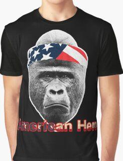 Natural Born Hero : Harambe Graphic T-Shirt
