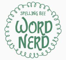 Spelling bee Word NERD One Piece - Long Sleeve