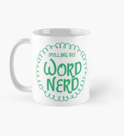 Spelling bee Word NERD Mug