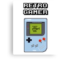 RETRO GAMER HANDHELD Game Console Canvas Print