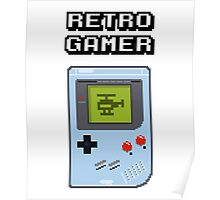 RETRO GAMER HANDHELD Game Console Poster