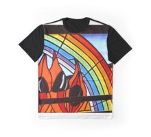 Sturts Desert Pea Graphic T-Shirt