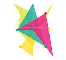 Abstract Polygon Photographic Print