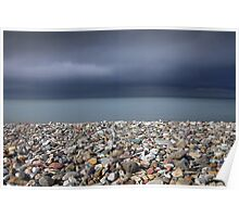 Llandudno beach North Wales Poster