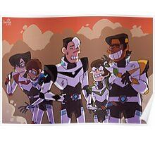 Legendary Defenders Poster