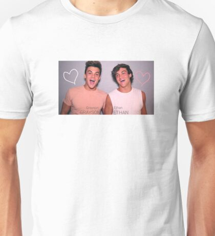 Grayson and Ethan laughing <3 Unisex T-Shirt