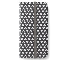 Mickey Polka Dots in Mouse Black iPhone Wallet/Case/Skin