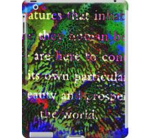 All the Creatures by SpiritualArty iPad Case/Skin