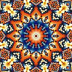 Colorful Tribal Pattern by Phil Perkins