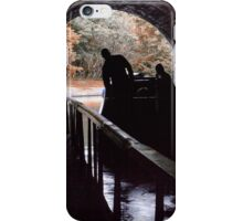 Canal tunnel at Chirk iPhone Case/Skin