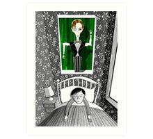 The Boy who Dreamed of David Bowie  Art Print