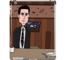 Agent Dale Cooper deduces at the RR Diner iPad Case/Skin