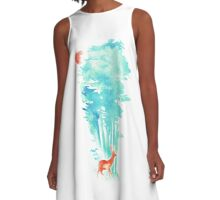 Summer in the Woods A-Line Dress