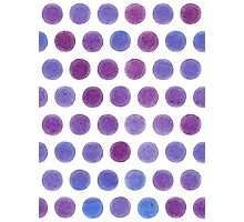 dot blueberries Photographic Print